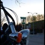 De turismo por Pinto con la Honda Shadow