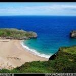 Playa la Ballota entre Cué y Andrin (Asturias)