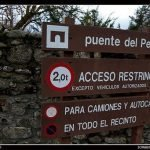 Ruta a la cascada de El Purgatorio en el Paular