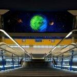 Metro en Arganzuela-Planetario, la estación más astronómica