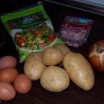 Receta de Tortilla de Patata con Bacón y Queso