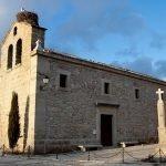 La iglesia de San Matías en Peralejo