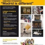 Concurso Fotográfico Madrid is different