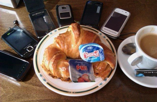 Desayuno tecnológico