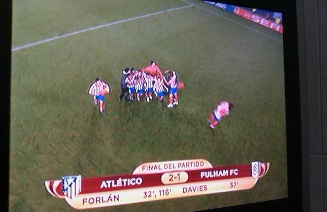El Atletico de Madrid Campeón de la Europa League