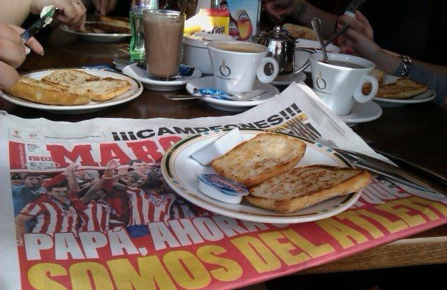 Desayuno con los campeones