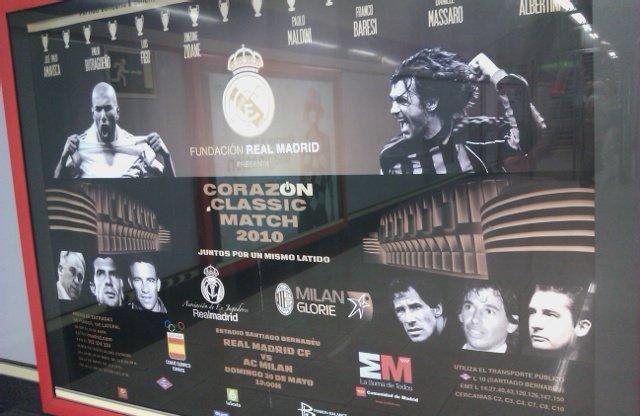 Asociación de exjugadores del Real Madrid contra las viejas glorias del Milan