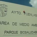 Parque biosaludable en el barrio del Hospital en Fuenlabrada