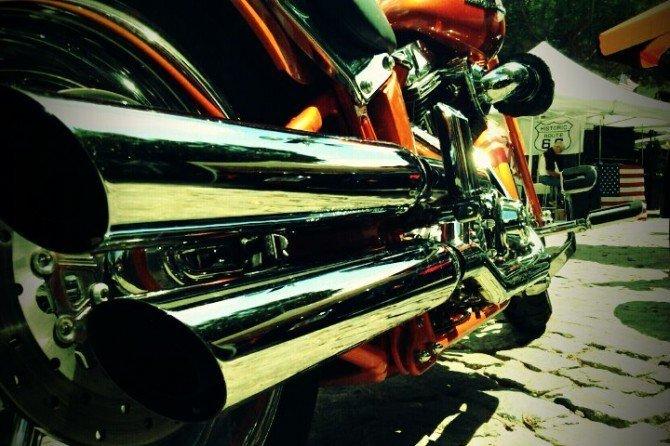 Pedazo de motos que hay en el Kustom Day