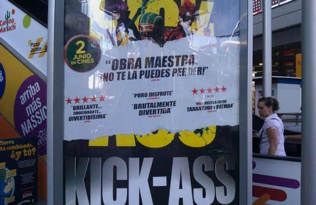Kick Ass, tremendamente buena y divertida