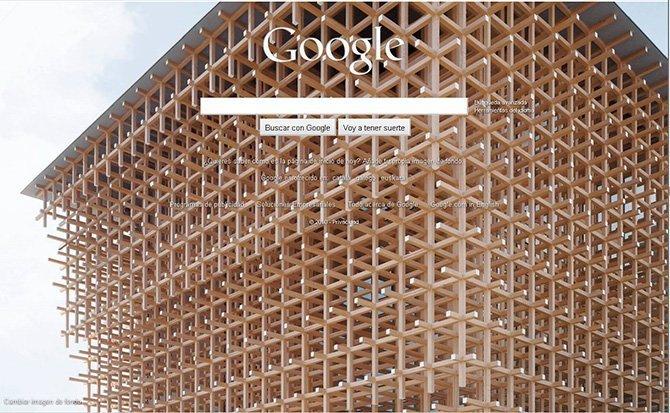 Cómo quitar la imagen de fondo de Google