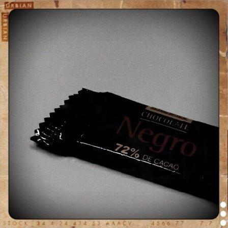 Chocolate negro de Hacendado