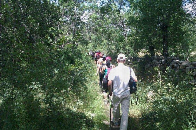 Llegando a la Villa de Navacerrada #Xacobeo2010