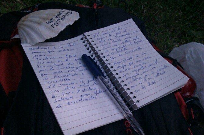 Tomando notas de la experiencía del Camino de Santiago #Xacobeo2010
