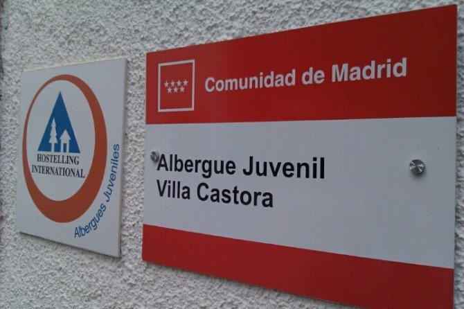 Ya por fin en el albergue juvenil Villa Castora de Cercedilla