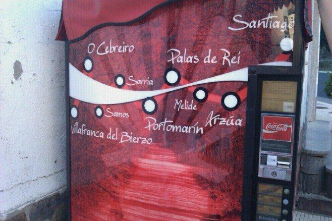 Es increible el negocio que hay montado a lo largo del Camino de  Santiago