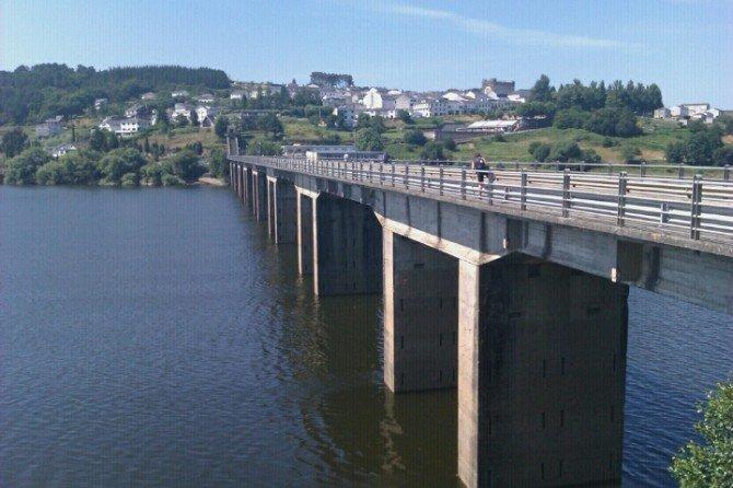 Ya en Portomarin, es precioso #Xacobeo2010