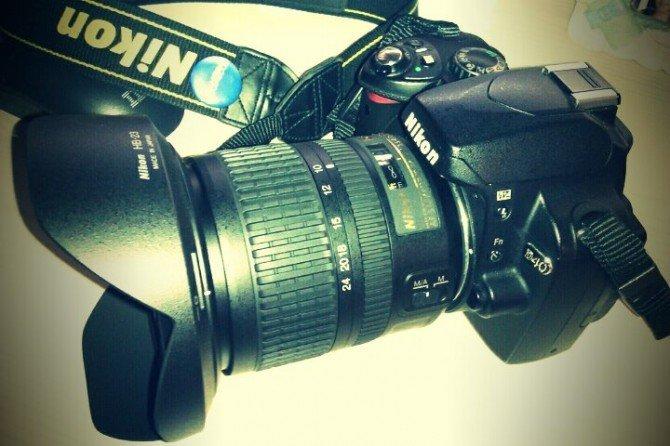 Me acaba de llegar el gran angular Nikon 10-24 que pedí a @redcoon_es