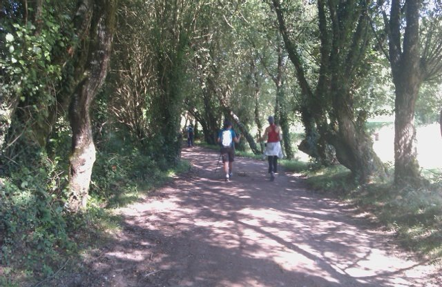 Que bello es el Camino hacia Portomarín