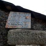 La Fuente del Peregrino en Ligonde Km 73,5