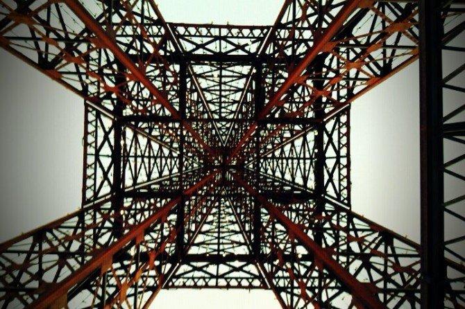 Otra perspectiva de la Torre Eiffel