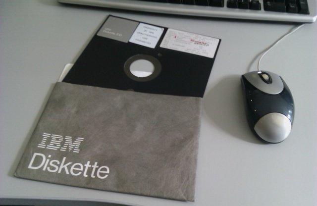 La madre de todos los diskettes