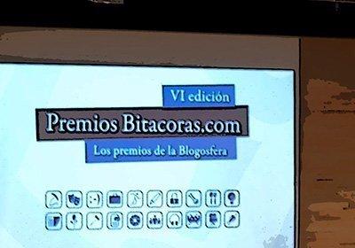 Comic de la presentación de los Premios Bitácoras 2010