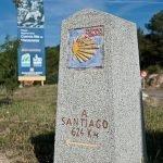 Mojones e hitos kilometricos del Camino de Santiago