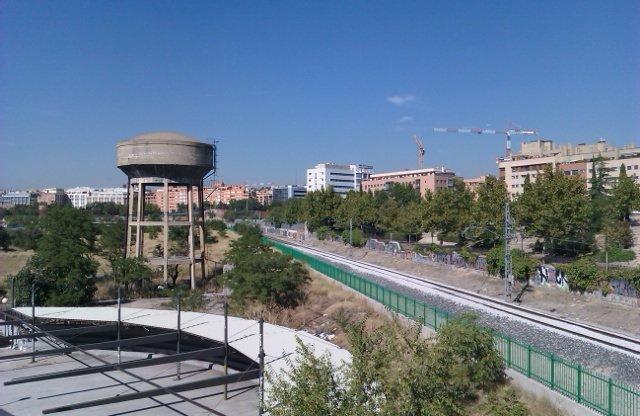 Fotos de Madrid – Depósito de agua abandonado