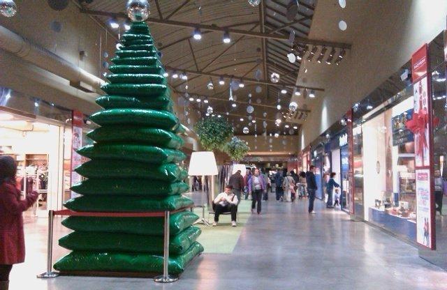 Llegó la Navidad al Factory de Getafe