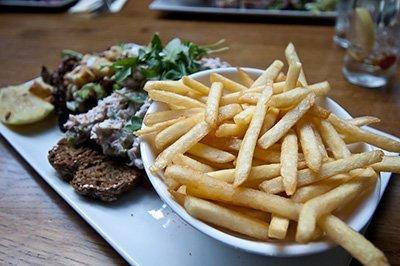 Comer en Dublín