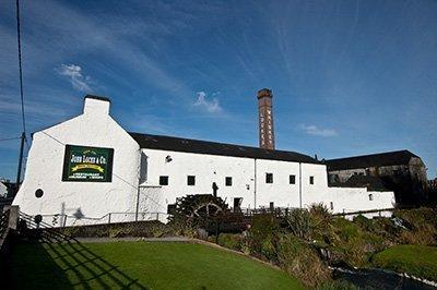 La destilería de Whiskey Kilbeggan