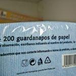 101/365 Guardanapos de papel