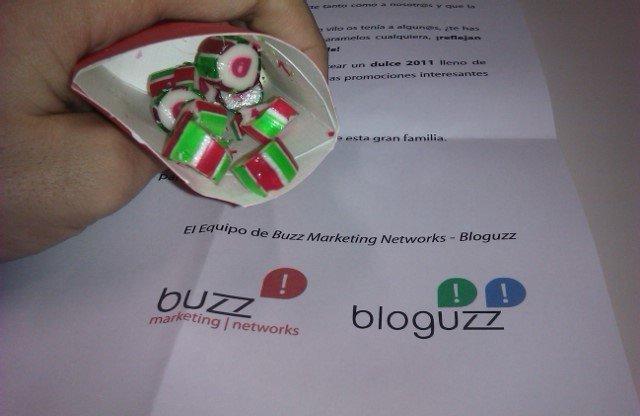 Que ricos los caramelos que nos han enviado los chicos de @bloguzz