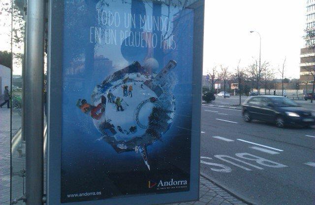 Que buena la nueva publicidad para promocionar Andorra
