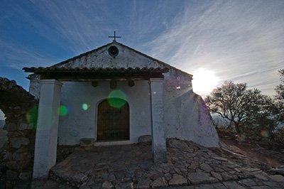 La Ermita de Nuestra Señora de Montegaudio en Monfragüe