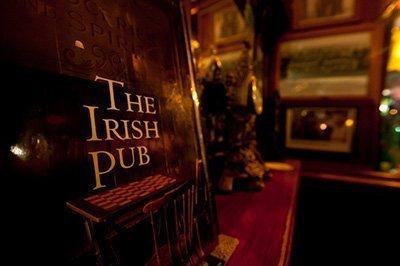 Pub tradicional irlandés
