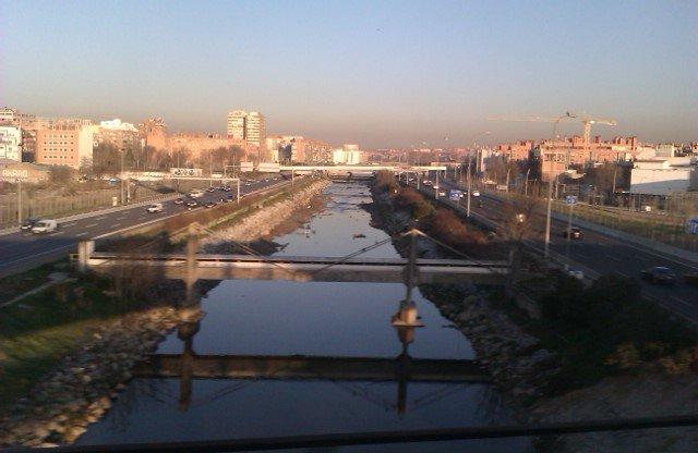 Me encanta esta vista de Madrid