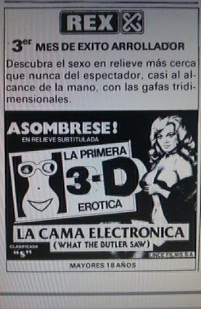 La primera película porno en 3D es de hace 30 años