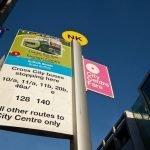 Autobús turístico en Dublín