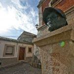 El busto de Francisco de Orellana en Trujillo