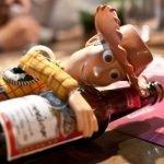 257/365 Woody se ha dado a la bebida desde que Andy le ha abandonado