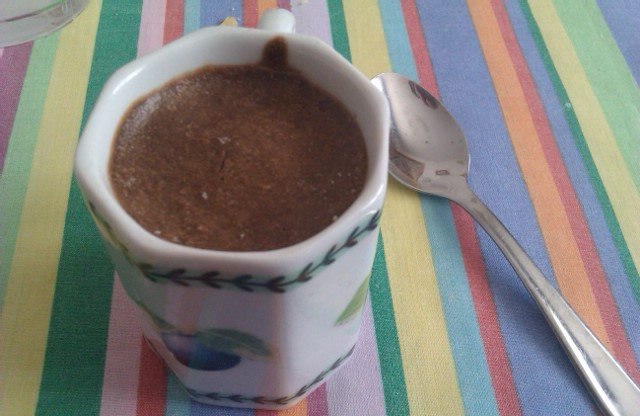 Postre de chocolate Dukan