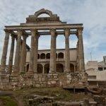 El Templo de Diana en Mérida