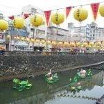 El Festival de las linternas de Nagasaki en Japón
