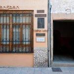 Visita al taller del artesano Canfranc Lucea, el cincelador de Sigüenza