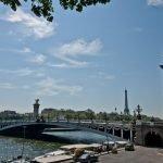El Puente Alejandro III en París