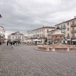 La Plaza mayor de Évora, la Plaza de Giraldo