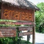 Yoga en el Hotel Amansala de Tulum