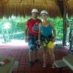Tirolinas en la selva, canopy en Aktunchen